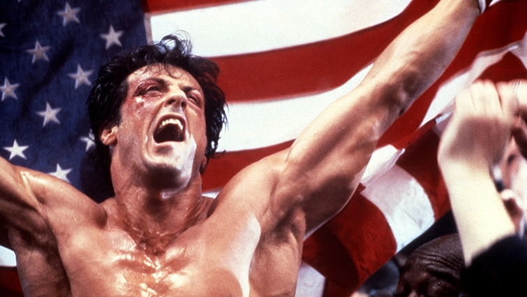 ROCKY IV, Sylvester Stallone, 1985, © MGM / Courtesy: Everett Collection