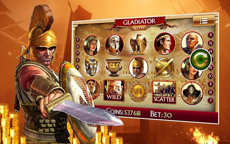 Gladiator, la fantastica slot