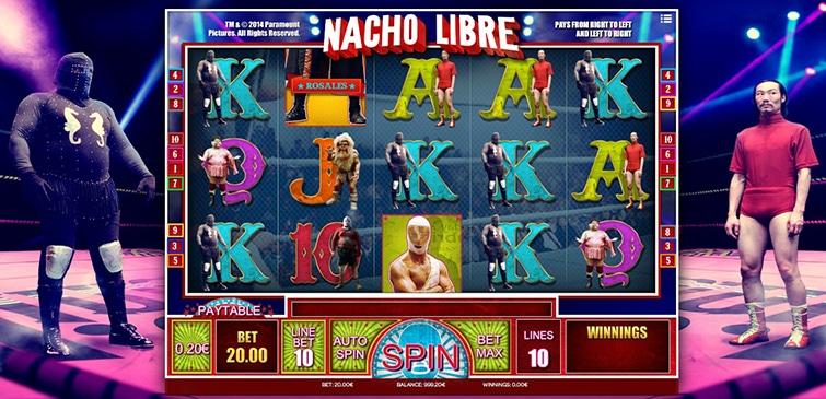 slot machine isoftbet nacho libre
