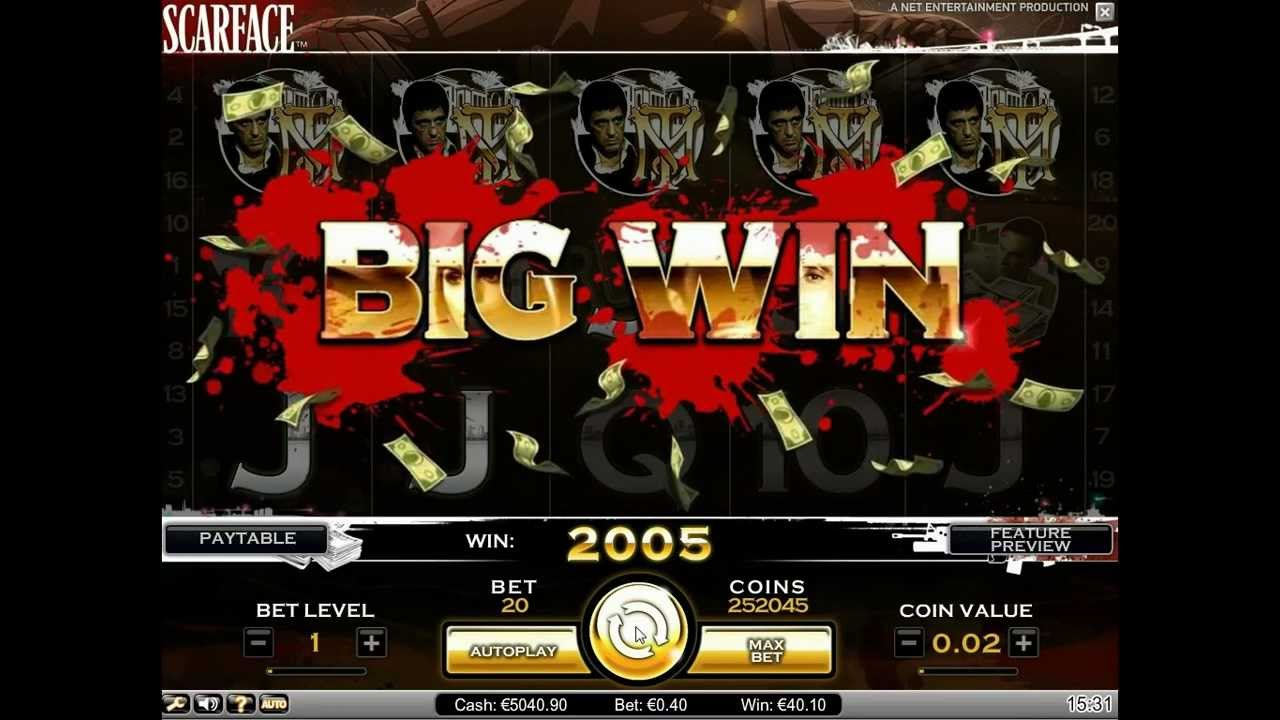 scarface slot machine online aams Net Entertainment