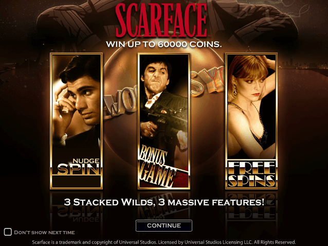 scarface slot machine online netent